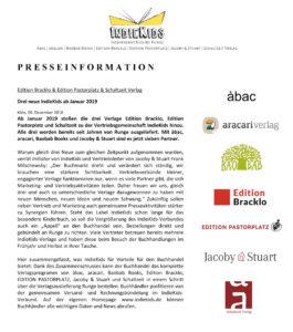 IndieKids Presseinformation 2019