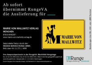 Marie von Mallwitz Verlag