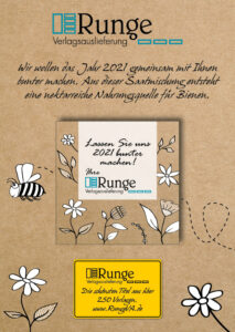 RungeVA, Frühlingsgruß, Buchhändler